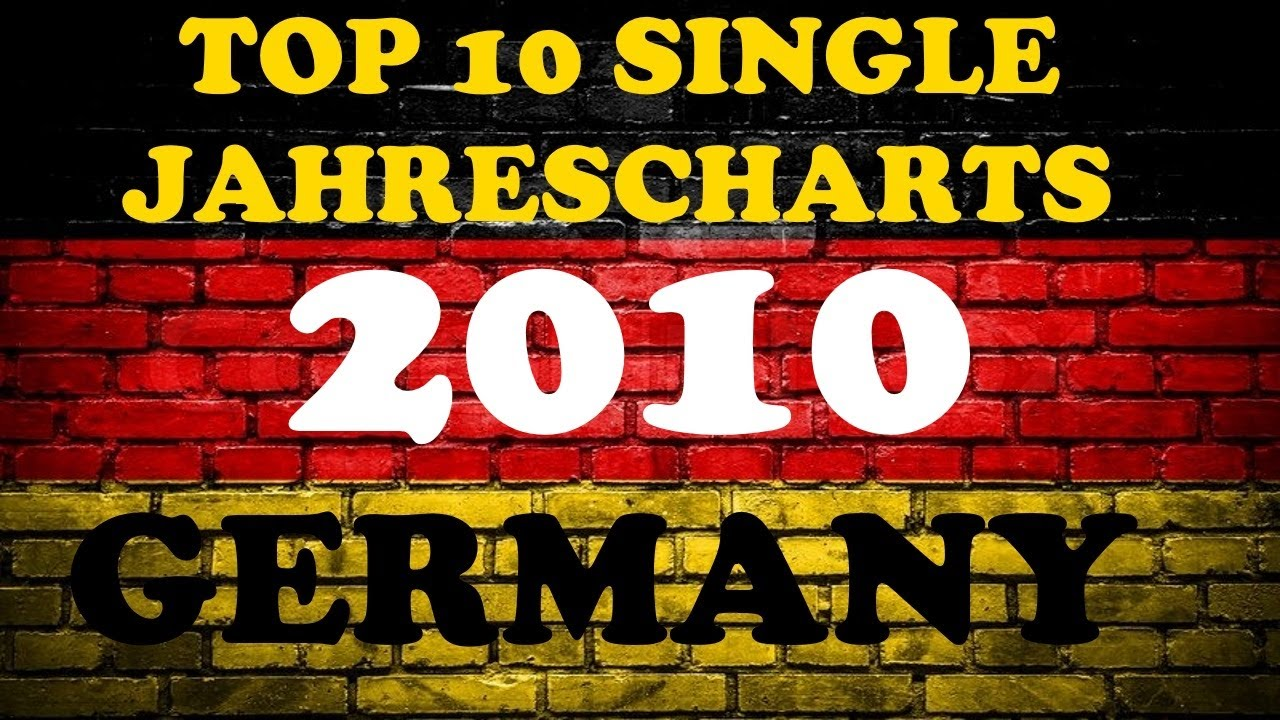 top 10 single jahrescharts deutschland 2010 year end single charts germany chartexpress. Black Bedroom Furniture Sets. Home Design Ideas