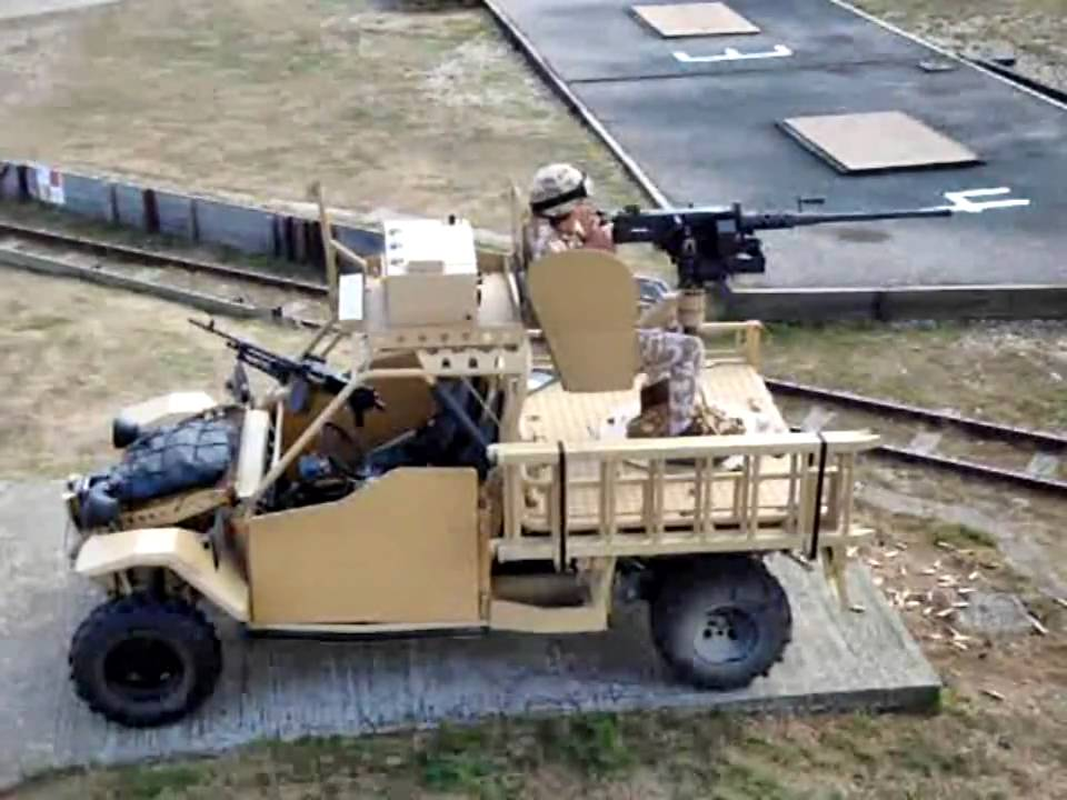 Army Vehicles For Sale >> Terrier / Springer Firing .50 CAL - YouTube