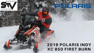 2019 Polaris Indy XC 850 First Burn