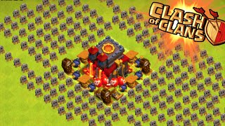 the town hall trap clash of clans weird champion base trolling in the champions league