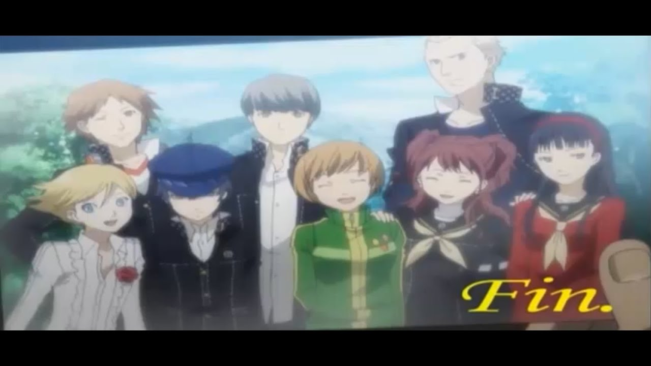 Persona 4 - Final Battle + True Ending (first cycle) [PS2 - Undub version]