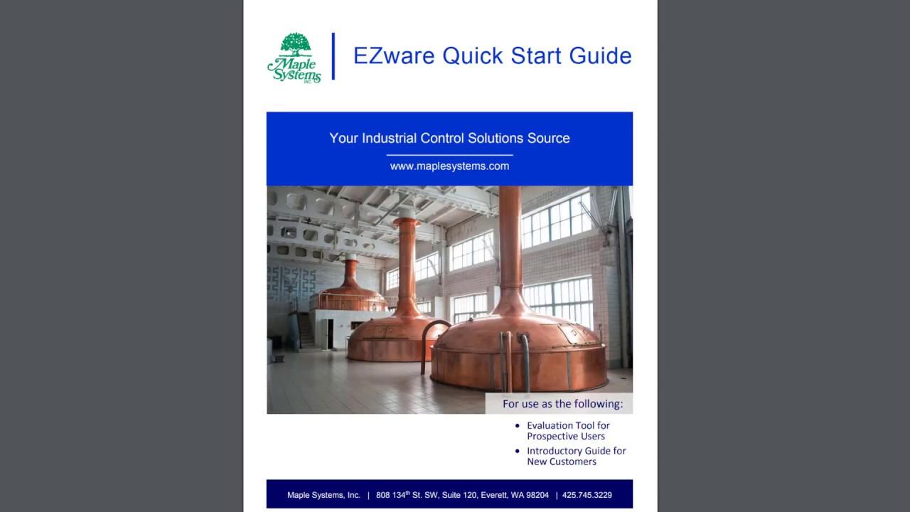 ezwareplus quick start guide part 2 youtube rh youtube com Illustrator CS6 Visual QuickStart Guide Drury Hotels Quick Start Guide