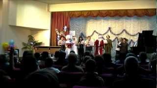Новогодний концерт 2013 в музыкальной школе