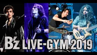 B'z LIVE-GYM 2019 New Touring Members