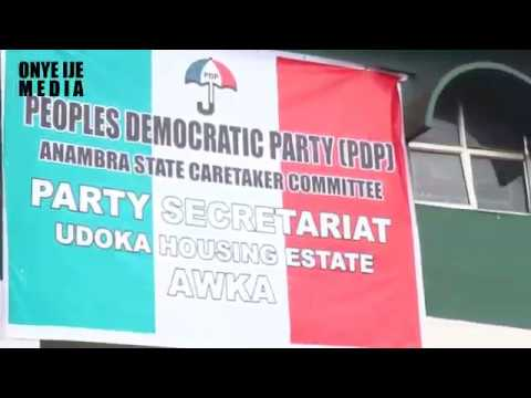 PDP SET TO TAKE OVER ANAMBRA STATE