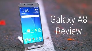 Samsung Galaxy A8 Duos Dual SIM Review