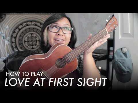 The Brobecks - Love at First Sight (Ukulele Tutorial)