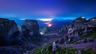 Метеоры | Чудо Света | Паломничество | Греция | Solun(Скалы Метеоры – одно из чудес света, в переводе с греческого «метеорос» означает «парящие в небе». Невозмож..., 2015-04-10T10:17:05.000Z)