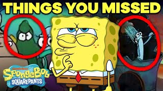 10 Background Details You Never Noticed  SpongeBob