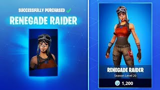 (SOLD) FORTNITE *RARE* ACCOUNT WITH RENEGADE RAIDER ON SALE! BUY/TRADE