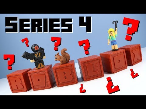 Roblox Series 4 Mystery Boxes Red Bricks Toy Opening Review Youtube - amazoncom roblox series 4 red brick mystery box toys games