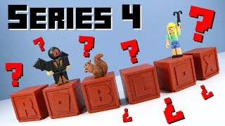 ROBLOX Series 4 Mystery Boxes Red Bricks Toy Opening Review