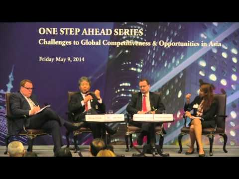 Panel I Competitiveness in Asia: Maintaining Innovation for Economic Growth