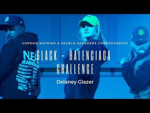 Delaney Glazer | 6LACK - Balenciaga Challenge (feat. Offset)