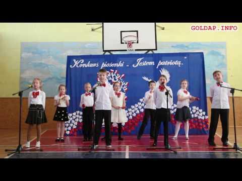 GOŁDAP. Dzieci z SP3 śpiewają piosenkę o Gołdapi