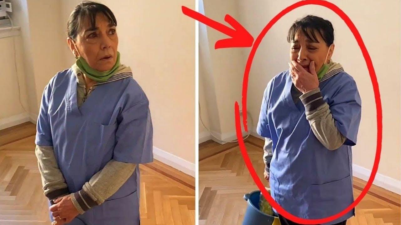 A Esta Señora De La Limpieza Se Le Pidió Que Limpiara El Ático. No Podía Creer Lo Que Sucedió