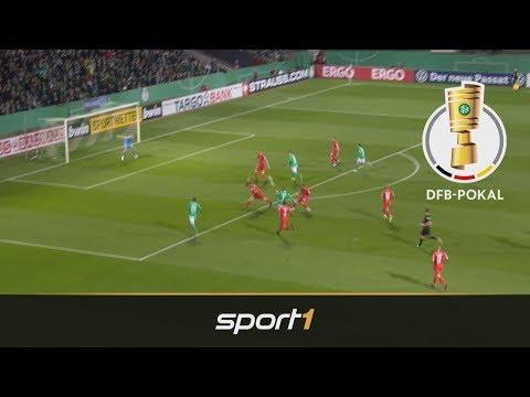 Werder Bremen 1 Fc Heidenheim 4 1 Highlights Dfb