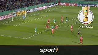 Werder Bremen - 1. FC Heidenheim 4:1 | Highlights | DFB-Pokal 2019 | SPORT1