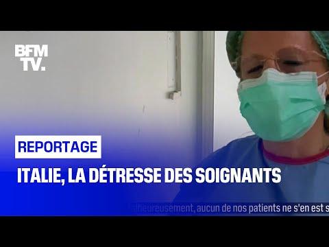 Italie, la détresse des soignants