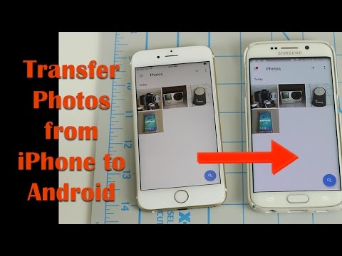 android to iphone photo transfer how to transfer photos from iphone to android without c 16571