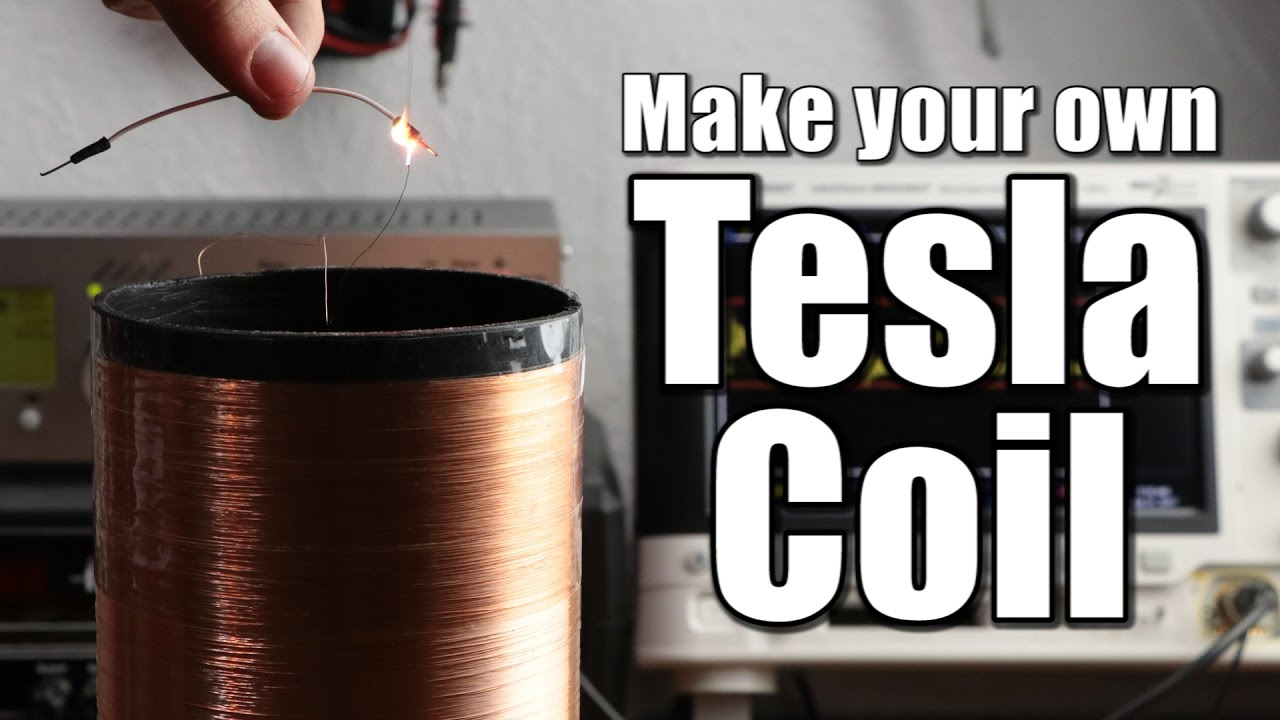 make your own tesla coil part 1 slayer exciter circuit [ 1280 x 720 Pixel ]