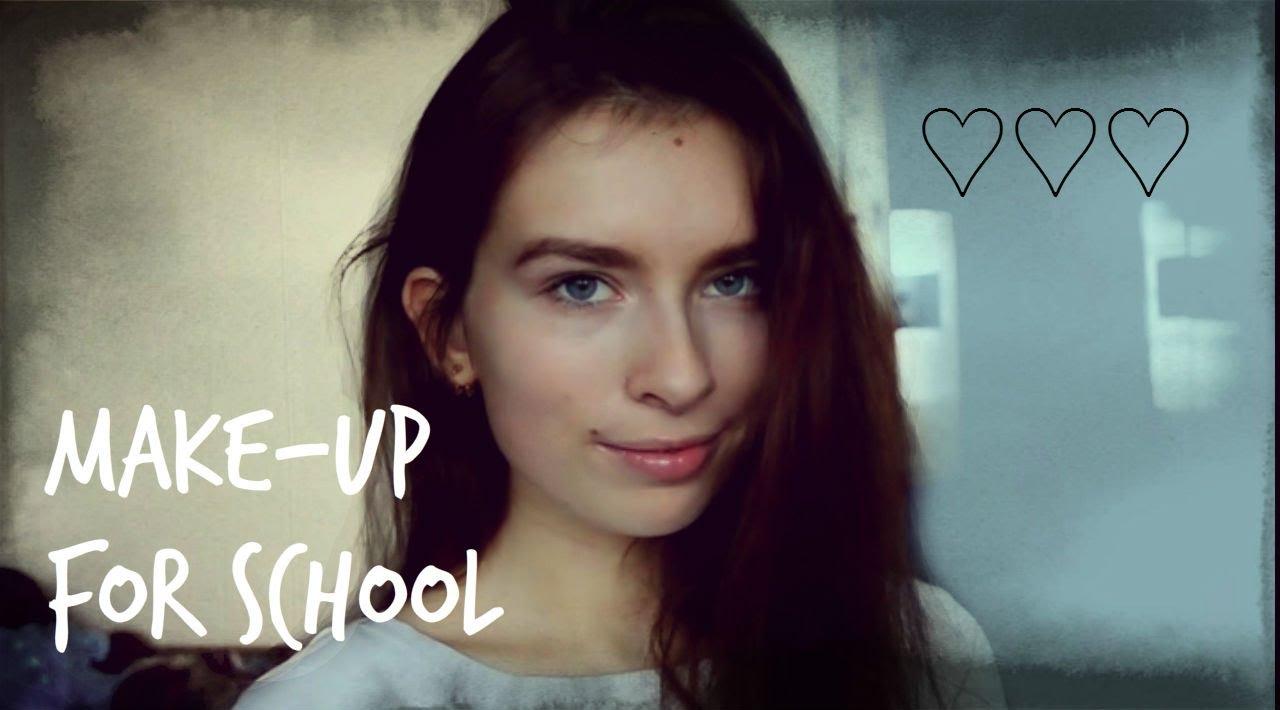 Макияж для школы: фото и видео - Allmakiyazh ru