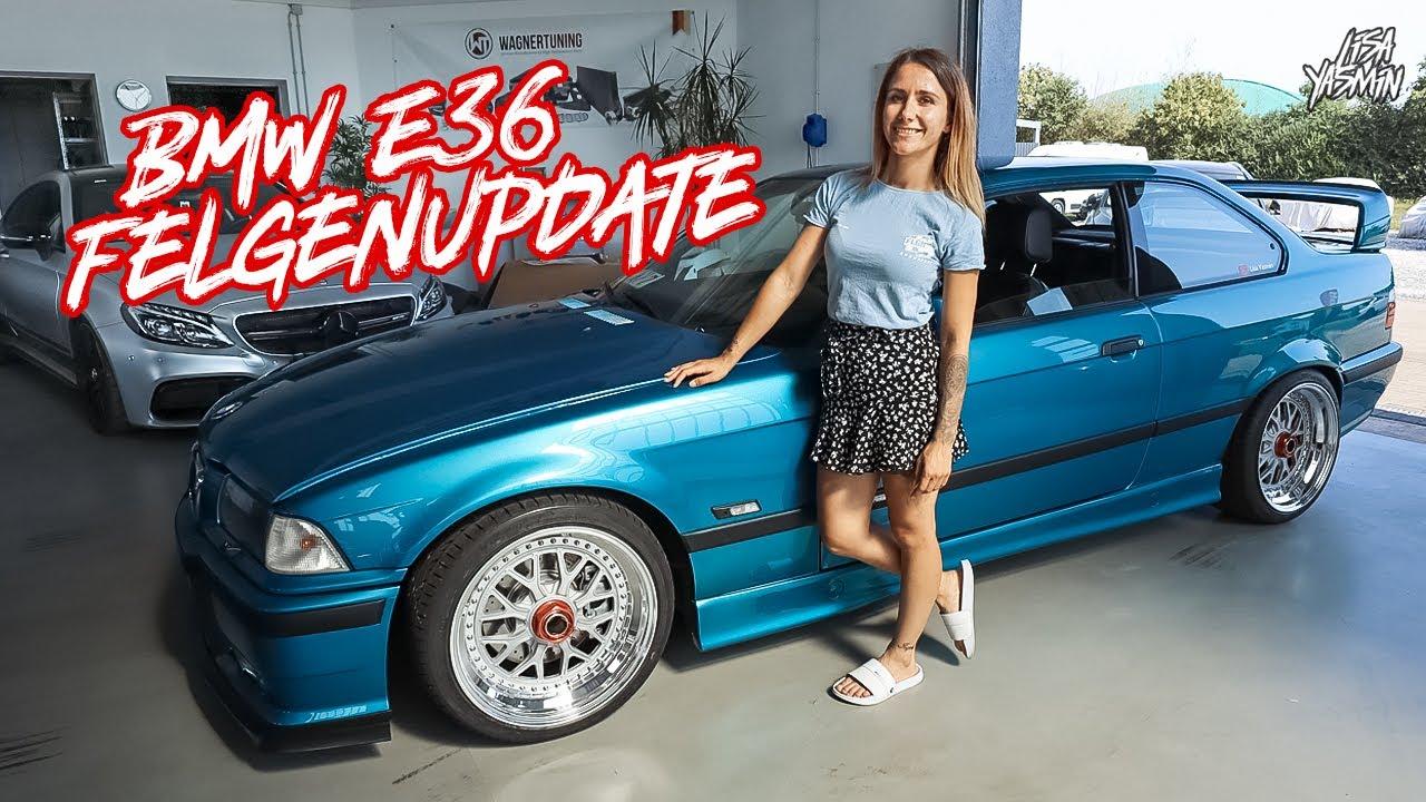 BMW E36 Felgenupdate | F-Garage | Lisa Yasmin