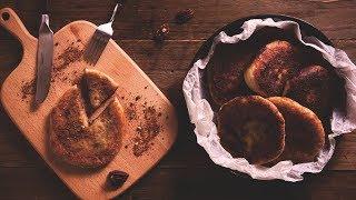 【鑄鐵鍋甜點????】韓國核桃糖煎餅Hotteok (Korean sweet pancakes with sugar u0026 walnuts filling)