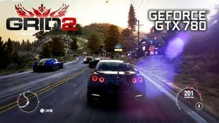 GRID 2 | Asus GTX 780 | Ultra Settings | Gameplay