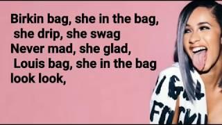 Cardi B & YG  - She Bad - Lyrics