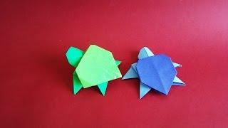 Origami turtle 거북이 색종이접기