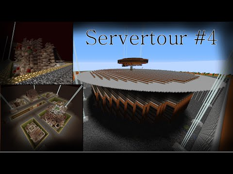 Servertour #4: Dying Mobs and Woody Drops | DuggedSMP