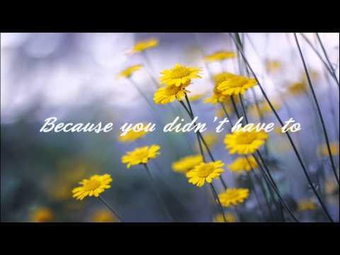 Celine Dion - Thank You (Lyrics)