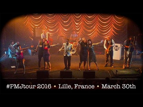 Postmodern Jukebox FULL CONCERT #PMJtour 2016 - Lille