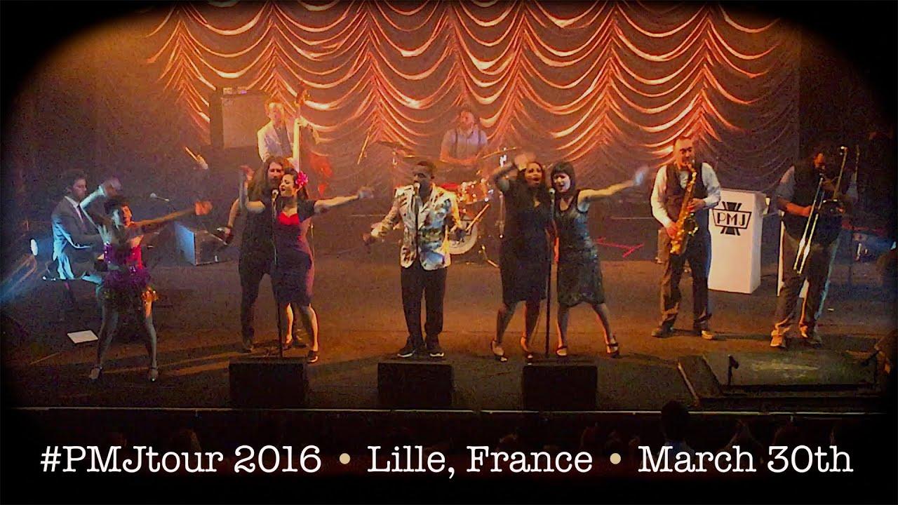 Postmodern Jukebox FULL CONCERT #PMJtour 2016 - Lille
