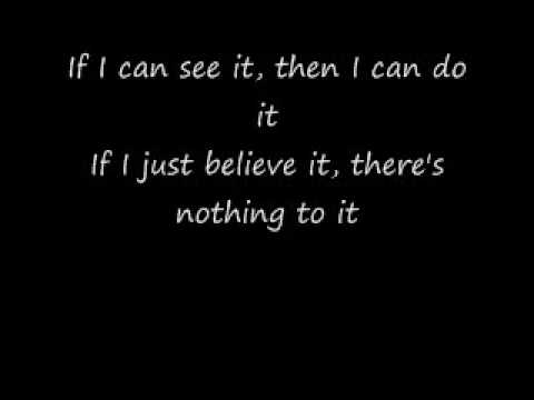 I Believe i can fly lyrics