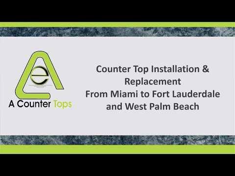 A Counter Tops: Best Countertops Installers in Miami and