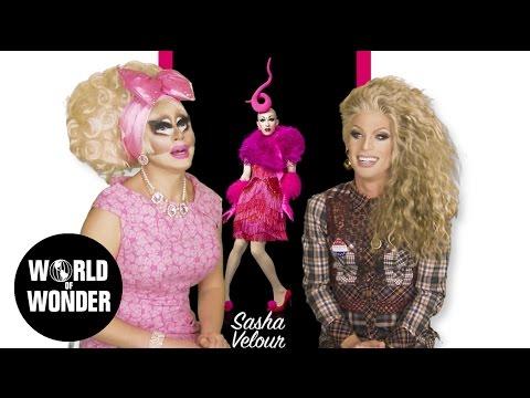"UNHhhh Ep 38 1/2: ""RDR9 Promo Reaction"" w/ Trixie Mattel & Katya"