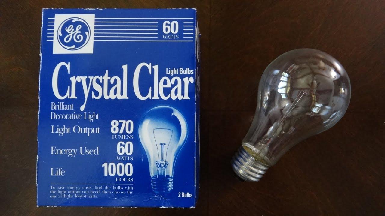 general electric incandescent light bulb