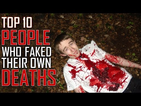 Top 10 People Who Faked Their Own Death