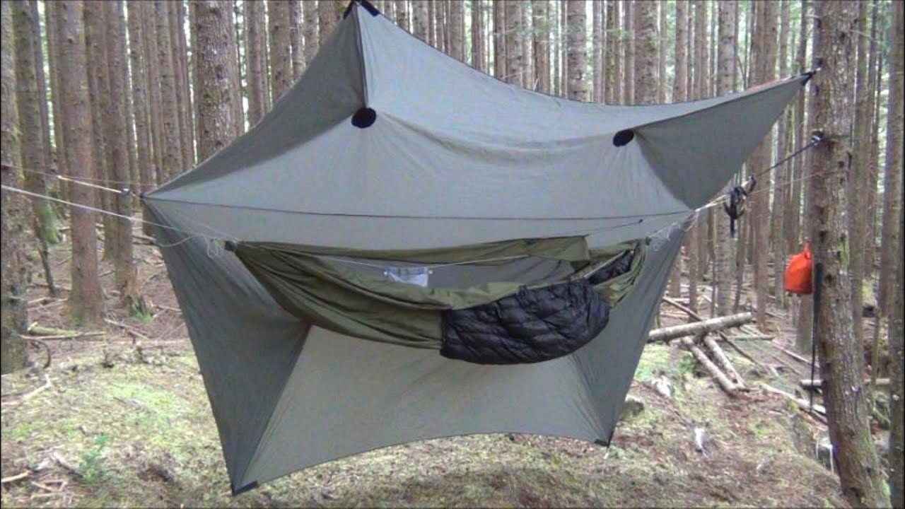 REI Tent Poles for the Warbonnet SuperFly Tarp - YouTube