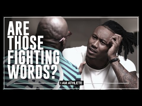 Are Those Fighting Words? | I AM ATHLETE with Brandon Marshall, Deestroying & More
