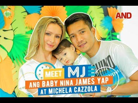 Meet MJ, ang baby nina James Yap at Michela Cazzola