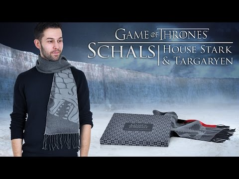 Game Of Thrones: Edle Schals Der Häuser Stark & Targaryen