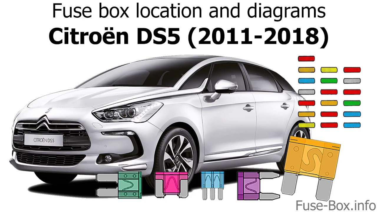 fuse box location and diagrams citroen ds5 2012 2016  [ 1280 x 720 Pixel ]