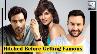 10 Bollywood Celebrities Who Got Married Before Becoming Famous | LehrenTV