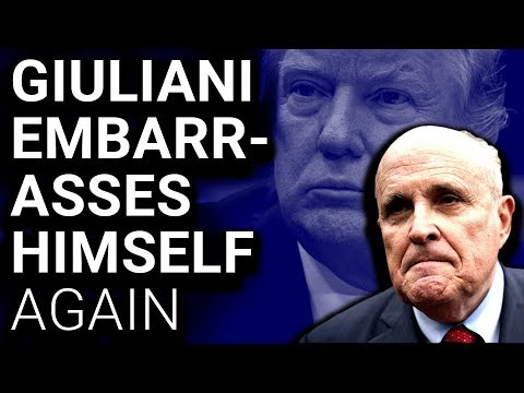 Giuliani ADMITS Trump Worked on Moscow Tower, Immediately Backtracks