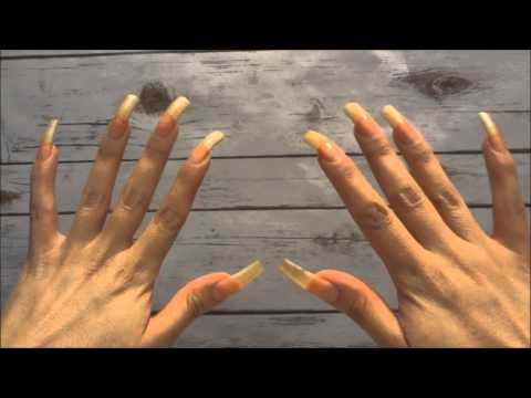 Girl with long nails have a nice work in mc donalds - 1 8