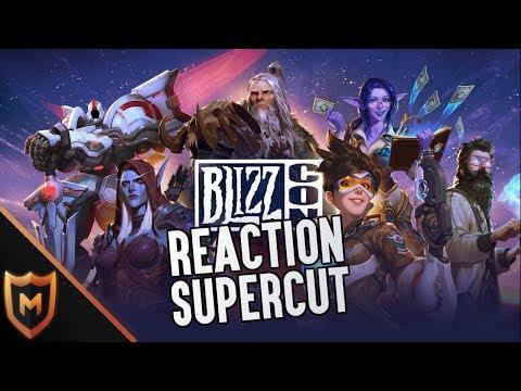 Blizzcon 2019 Opening Ceremony Reaction Supercut