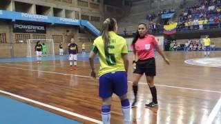 Final del torneo fútbol sala sub 20: Brasil vs  Colombia